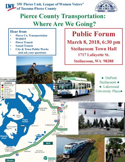 Unit Meeting Materials - LWV of Tacoma-Pierce County